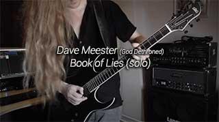 Dave Meester Gitaarsolo