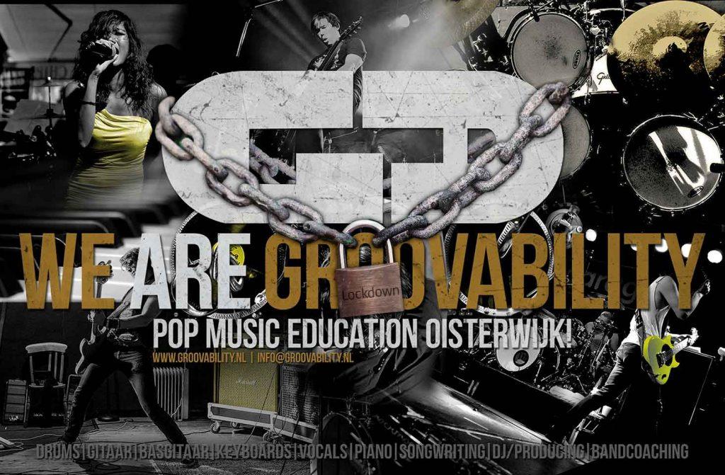 Muziekschool gesloten wegens Lockdown